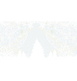tree xmas background design vector image