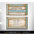 Weathered board business card vector | Price: 1 Credit (USD $1)