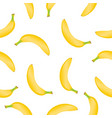 banana pattern vector image