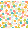 cute seamless pattern with soap bubbles for kids vector image vector image