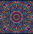 festive colorful mandala pattern vector image vector image
