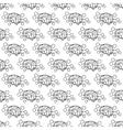 Human brain pattern seamless vector image vector image