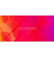 liquid colorful geometric background rainbow 3d vector image vector image