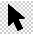 mouse cursor icon vector image vector image