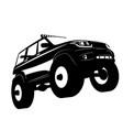 off road vehicle car logo vector image vector image