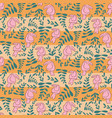 pink toucan stripes repeat pattern design vector image vector image