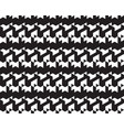 seamless black patterns vector image