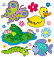 small animals collection 8 vector image
