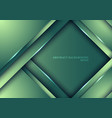template design abstract green nature gradient vector image vector image