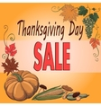 Thanksgiving day Turkey vector image vector image