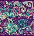 Bright seamless pattern ethnic backdrop abstract