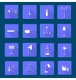 Icons light vector image