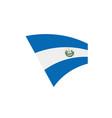 Salvador flag vector image