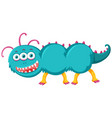 a bizarre monster character vector image