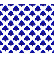 blue and white pattern vector image