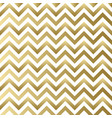 chevron gold and white pattern vector image