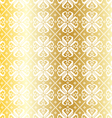 gold nordic pattern vector image vector image