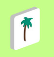 palm computer symbol vector image