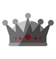 royalty crown icon imag vector image vector image
