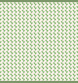 simple pattern with leaves vintage vector image vector image
