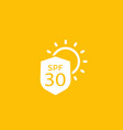 uv protection spf 30 icon