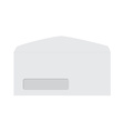 White envelope vector image vector image