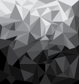Abstract background Black with Grey and colorful vector image vector image