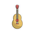 guitar musical instrument to play music vector image vector image