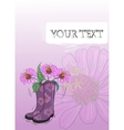 Gumboot Drawing vector image vector image