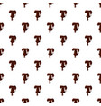 letter t from latin alphabet made of chocolate vector image vector image