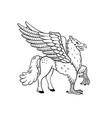 magical creatures set mythological animal vector image vector image