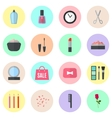 Make up flat icons vector image vector image