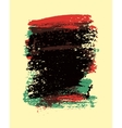 Painting brush strokes stain abstract background vector image vector image