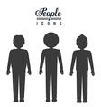 People design vector image vector image