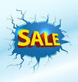 Shopping special offer template vector image