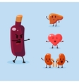 Wine Harm Set vector image vector image