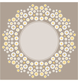 color decorative flower background vector image vector image