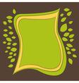 green paper bg vector image vector image