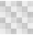 halftone seamless pattern background design vector image vector image