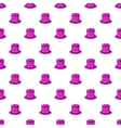 Hat of magician pattern cartoon style vector image vector image