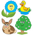 spring collection 2 vector image