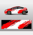 car wrap decal design graphic abstract racing
