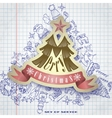 Christmas And New Year Symbols vector image