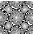 Design seamless monochrome ellipse background vector image