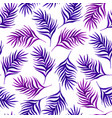 floral seamless pattern with purple leaves vector image vector image