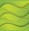 green abstract background made of paper vector image vector image