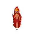Igny indian god cartoon character