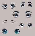 Manga eyes set