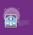 modern house design vector image