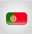 portugal flag design vector image